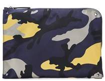 Valentino Men's Multicolor Fabric Case.