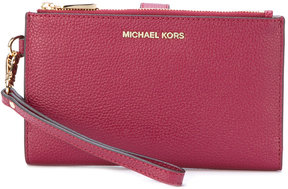 MICHAEL Michael Kors Adele smartphone wristlet - RED - STYLE