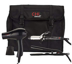 CHI Smart Titanium Ceramic Travel Trio Set