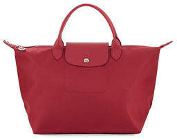 Longchamp Le Pliage Neo Medium Nylon Shoulder Tote Bag