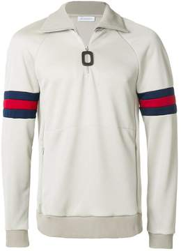 J.W.Anderson high neck half-zip jumper