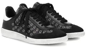 Isabel Marant Bryce embellished leather sneakers