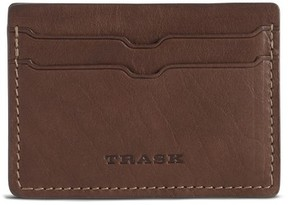 Trask Men's Jackson Card Case - Brown