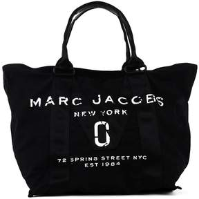 Marc Jacobs Logo Stitch Panel Tote - BLACK - STYLE