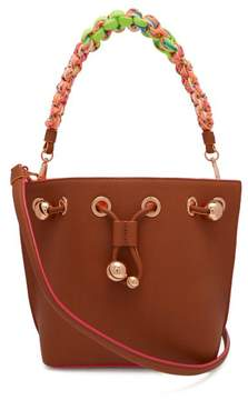 Sophia Webster Romy Mini Bucket Leather Bag - Womens - Tan