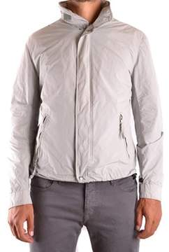 Aspesi Men's White Polyester Outerwear Jacket.