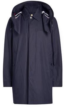 Burberry Hardwick Cotton Coat with Hood