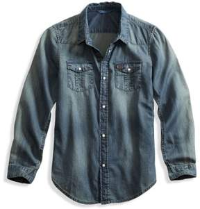 GUESS Boy's Denim Shirt (8-18)