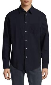 Rag & Bone Long Sleeve Cotton Casual Button-Down Shirt