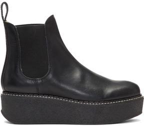 Flamingos Black Deltona Platform Boots