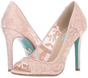 Betsey Johnson Blue by Adley High Heels