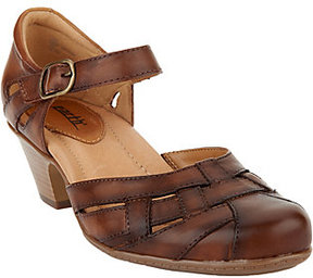 Earth Leather Closed Toe Sandals - Lynx