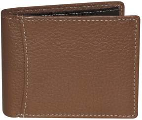Dopp Men's Rfid-Blocking Flip-Out Double ID Slimfold Wallet