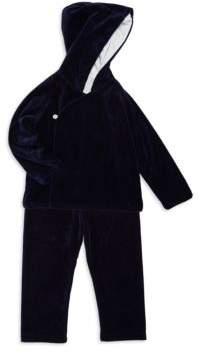 Ralph Lauren Boy's Velour Two-Piece Hoodie & Pants Set