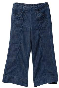 Joe Fresh Wide Leg Denim Pants (Little Girls & Big Girls)