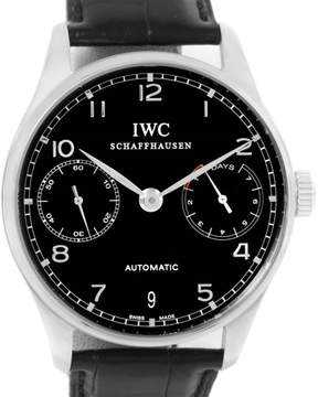IWC Portuguese Chrono IW500109 Stainless Steel 42.3mm Mens Watch