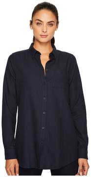 Fjallraven High Coast Flannel Shirt Women's Long Sleeve Button Up
