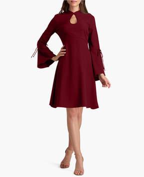 ECI Bell-Sleeve A-Line Dress