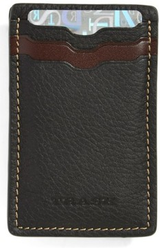 Trask Men's 'Jackson' Card Case - Black