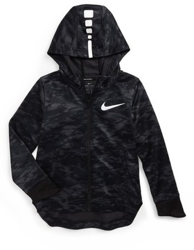 Nike Toddler Boy's Elite Therma Zip Hoodie