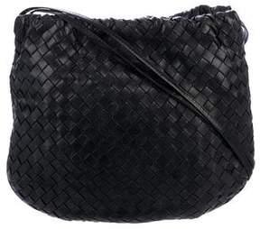 Bottega Veneta Intreccatio Leather Crossbody Bag