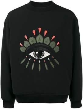 Kenzo Eye woven sweatshirt