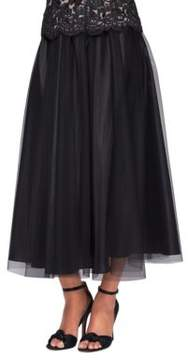 Alex Evenings Tea Length Full Skirt