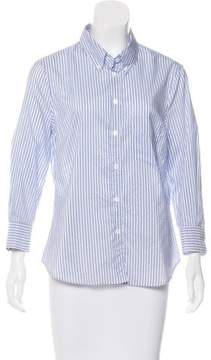 Boy By Band Of Outsiders Striped Button-Up Top