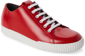 Marni Red Leather Sneakers