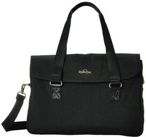 Kipling Super Work Small Bags - BLACK PATENT COMBO - STYLE