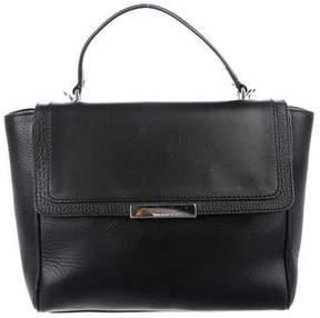Tiffany & Co. Leather Flap Satchel