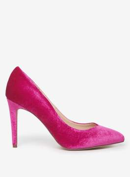 Dorothy Perkins Magenta Velvet 'Evie' Court Shoes
