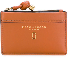 Marc Jacobs Double J zip top wallet - RED - STYLE