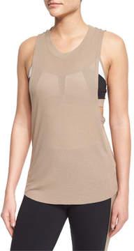 Alo Yoga Heat Wave Sleeveless Ribbed Sport Tank