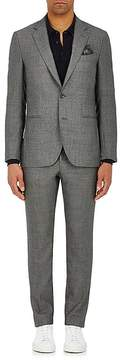 Boglioli Men's Neat-Pattern Wool Two-Button Suit