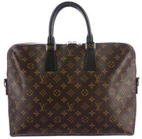 Louis Vuitton Monogram Macassar Porte-Documents Jour