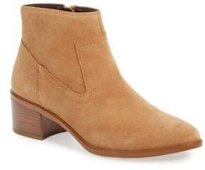 BCBGeneration Womens Allegro Leather Closed Toe Ankle Sandalwood