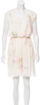 Mulberry Silk Mini Dress