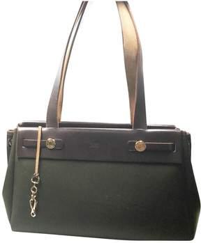 Hermes Herbag leather handbag - GREEN - STYLE