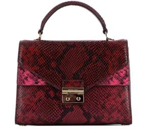 Michael Kors Red Leather Handle Bag - RED - STYLE