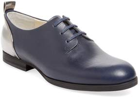 Jil Sander Navy Women's Galaxy Leather Oxford
