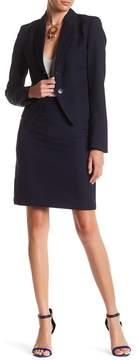 Atelier Luxe Shadow Stripe Skirt