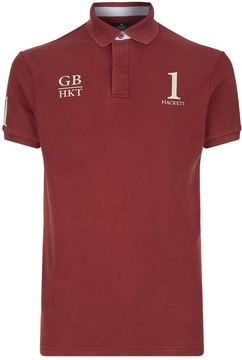 Hackett Classic Fit Number 1 Polo Shirt