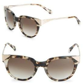 Balmain 53MM Wayfarer Sunglasses