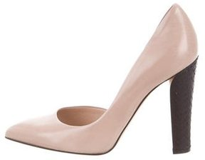 Reed Krakoff Pointed-Toe Leather Pumps