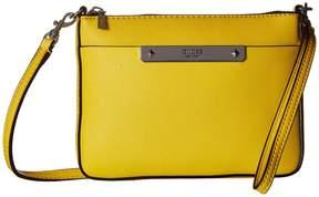 GUESS Britta Mini Crossbody Top Zip Cross Body Handbags