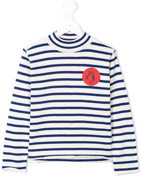 Bobo Choses 'Loup De Mer' knitted turtle neck sweater