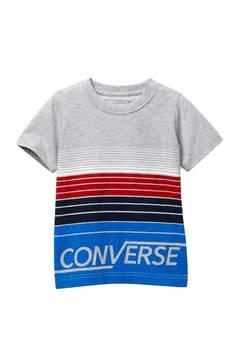 Converse Multi Stripe Tee (Little Boys)