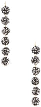 Anna & Ava Fireball Linear Drop Statement Earrings