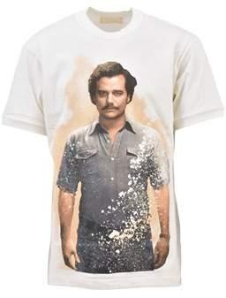 Ih Nom Uh Nit Men's White Cotton T-shirt.